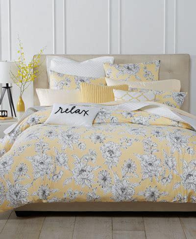 charter club damask designs butter floral bedding