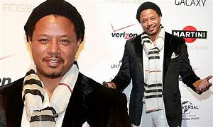Terrence Howard beats the winter chill in style at ...
