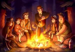 ::GF:: Last campfire of the summer by Mistrel-Fox on ...