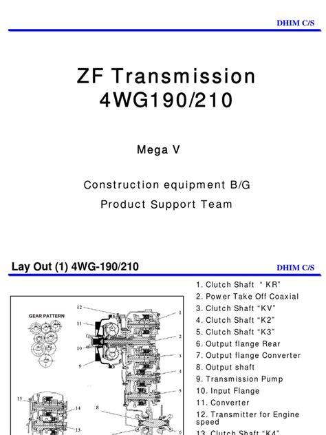 zf wg manual transmission transmission mechanics