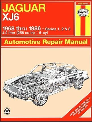 what is the best auto repair manual 1986 ford ltd security system jaguar xj6 repair and service manual 1968 1986 haynes 49010