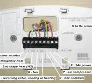 Honeywell 4000 Thermostat Wiring Diagram