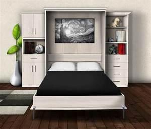 Lit Double Escamotable Ikea : lit mural escamotable lit escamotable ~ Melissatoandfro.com Idées de Décoration