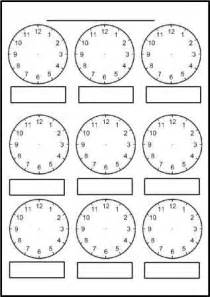 1st grade telling time free printable blank clock faces worksheets math thinks blank clock teaching