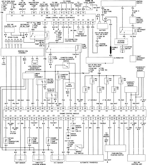 1994 Buick Lesabre Ignition Switch Wiring Diagram by 1987 Buick Lesabre Dash Wire Diagram Auto Electrical
