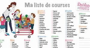 Listes De Courses : ces listes de courses qui vous simplifient la vie ~ Nature-et-papiers.com Idées de Décoration