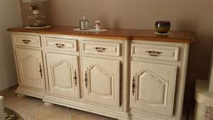 simple agrable peindre armoire cuisine chene leroy merlin With repeindre un meuble en chene