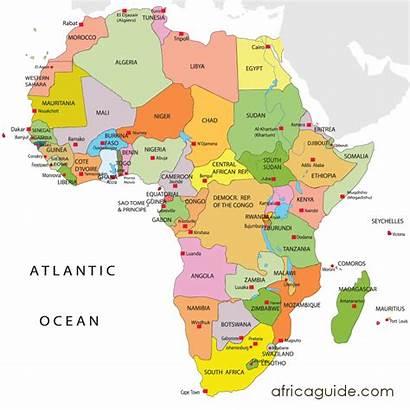 Africa Maps Map Pambazuka Environment