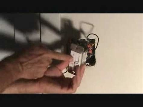 connect ceiling fan to wall switch how to properly connect a ceiling fan wall switch youtube