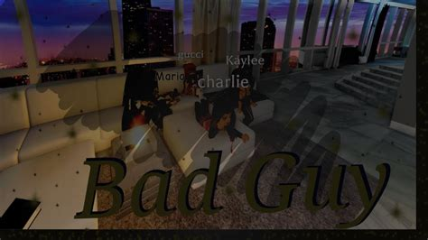 All rights reserved to the artist, billie eilish. Bad Guy   Billie Eilish   Royale High Music Video - YouTube