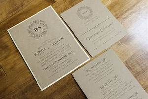 18 best images about wedding invitations on pinterest With wedding invitations on brown paper