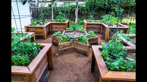 [garden Ideas] Raised Vegetable Garden Bed