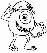 Monsters Monster Coloring Inc Pages Colouring Printable Drawing Sheets Disney Moshi Characters Cartoon Printables Boo Childs Uncle Roger Scene Didi sketch template