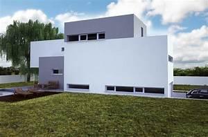 Projekt domu s dvougaráží