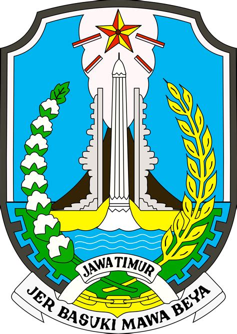 lambang jawa timur wikipedia bahasa indonesia
