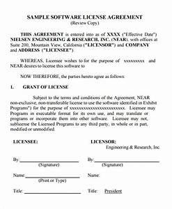 sample license agreement template 11 free documents in With photo license agreement template