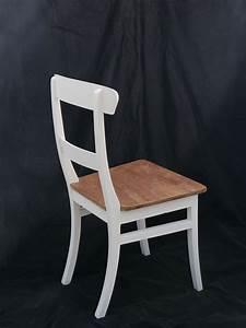 Stühle Im Landhausstil : stuhl im landhausstil teakholz in wei und natur sitzm bel st hle ~ Frokenaadalensverden.com Haus und Dekorationen