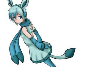 Pokemon Glaceon Cosplay