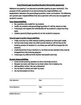 tutoring contract template uk 17 best images about little fish tutoring on pinterest