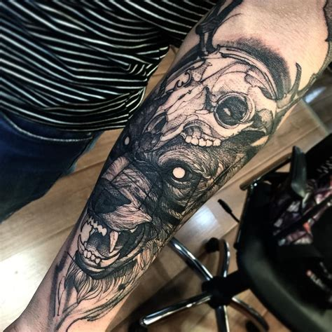 Charles oliveira da silva (born october 17, 1989) is a brazilian professional mixed martial artist. Beast muito obrigado Ranny 🙏 #electricink | Animal tattoos ...