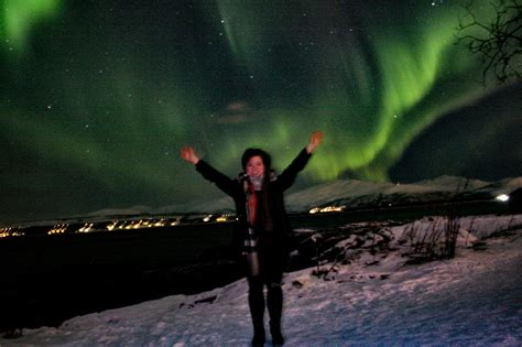 tromso norway northern lights tour whatsupcourtney travel lifestyle top adventure and