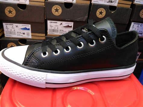 Sepatu Medley Grade Ori 04 05 jual beli sepatu converse all leather kulit hitam