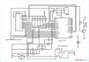 Piezo Alarm Buzzer Circuit Diagram