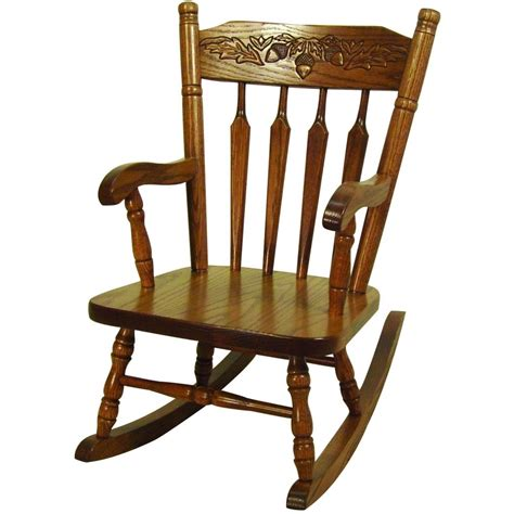 acorn childs rocker amish crafted furniture
