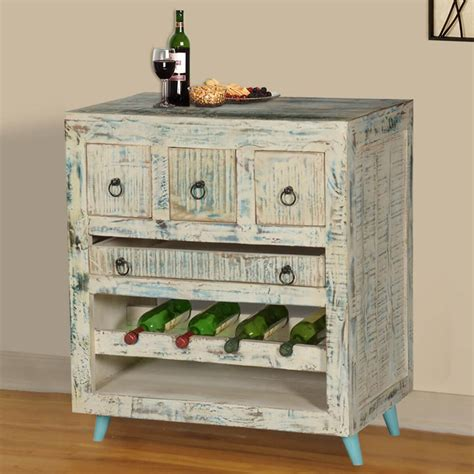 White Wood Wine Cabinet by White Washed Reclaimed Wood Wine Rack Bar Cabinet