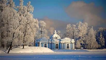 Winter Petersburg Russian Wallpapers Saint Russia Winteer