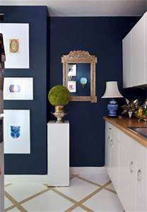 lisa mende design best navy blue paint colors 8 of my favs With kitchen colors with white cabinets with royal blue wall art