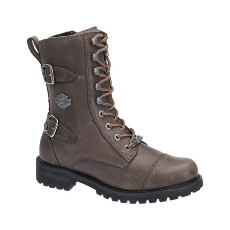 harley boots harley davidson womens balsa leather boots stone brown