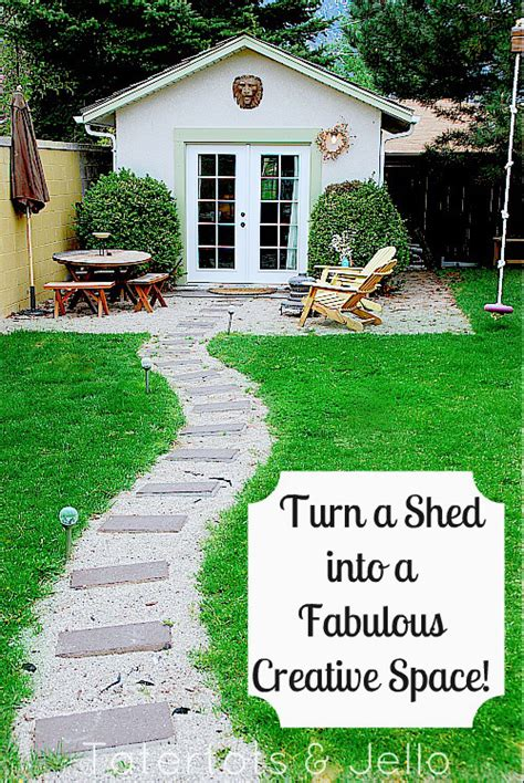Transform a Shed into a Creative Multi-Use Space!