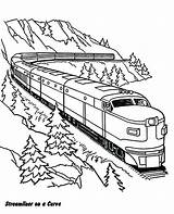 Coloring Pages Railroad Train Freight Printable Print Getcolorings sketch template