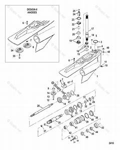 Mercury Mercruiser Sterndrive Parts By Size  U0026 Serial Drives Oem Parts Diagram For Gear Housing