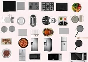 Muebles de cocina PNG y PSD sin fondo para Photoshop