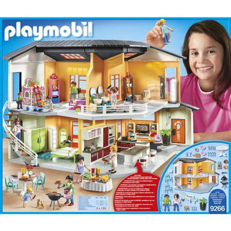 9266maison Moderne Playmobil City Life Playmobil King