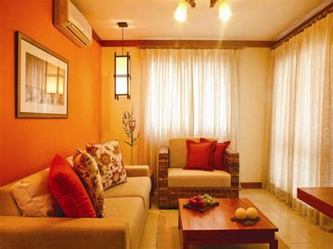 Kitchen And Living Room Color Schemes by Window Curtains Ideas For Bedroom Gray And Orange Color