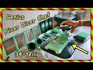 Nicer Dicer 34 Teilig : unboxing 34 teilig nicer dicer chef sofie haushalt unperfekt perfekt youtube ~ A.2002-acura-tl-radio.info Haus und Dekorationen