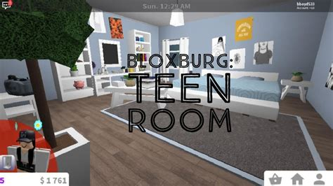 bloxburg teen girls room youtube
