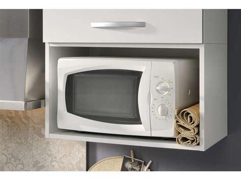meuble micro ondes spoon blanc f5 vente de meuble haut