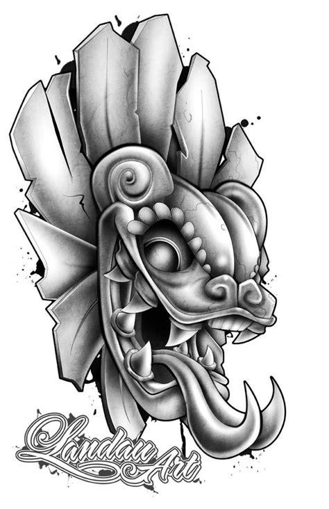 Aztec Skull Warrior