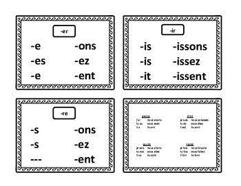 updated learning french present tense conjugation