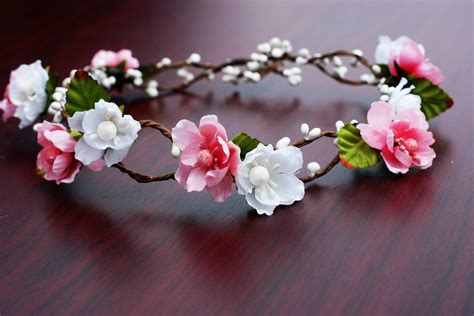 Amazon.com : Bridal Flower Crown Floral Crown Wedding