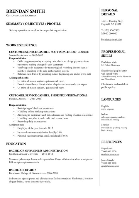 Rã Sumã Template by Resume Templates Resumeviking
