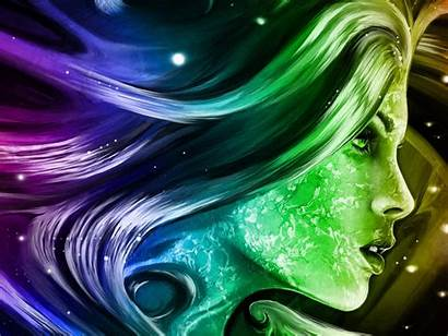 3d Abstract Wallpapers Digital Mobile Rainbow Fantasy