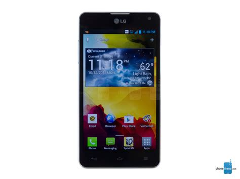 sprint lg phones lg optimus g sprint specs