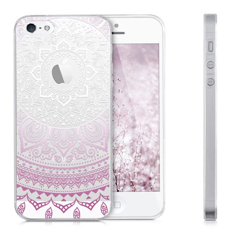 housse protection iphone 5 kwmobile housse de protection pour apple iphone se 5 5s tpu silicone 201 tui ebay