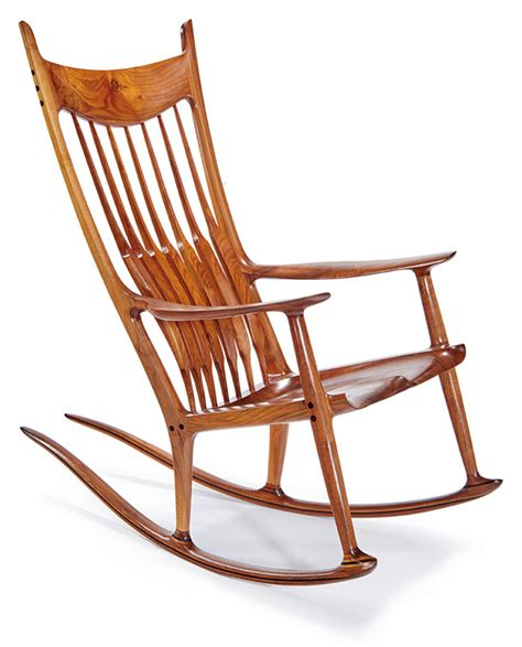 maloof rocking chair auction sam maloof los angeles modern auctions lama