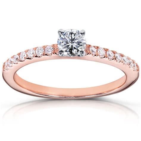 14k Rose Gold Round Diamond Engagement Ring  Unusual. Simple Design Rings. 24 Karat Diamond. Aluminum Diamond. Titanium Watches. Lady Watches Bracelet. Cord Bracelet. Topaz Engagement Rings. Braided Wedding Rings